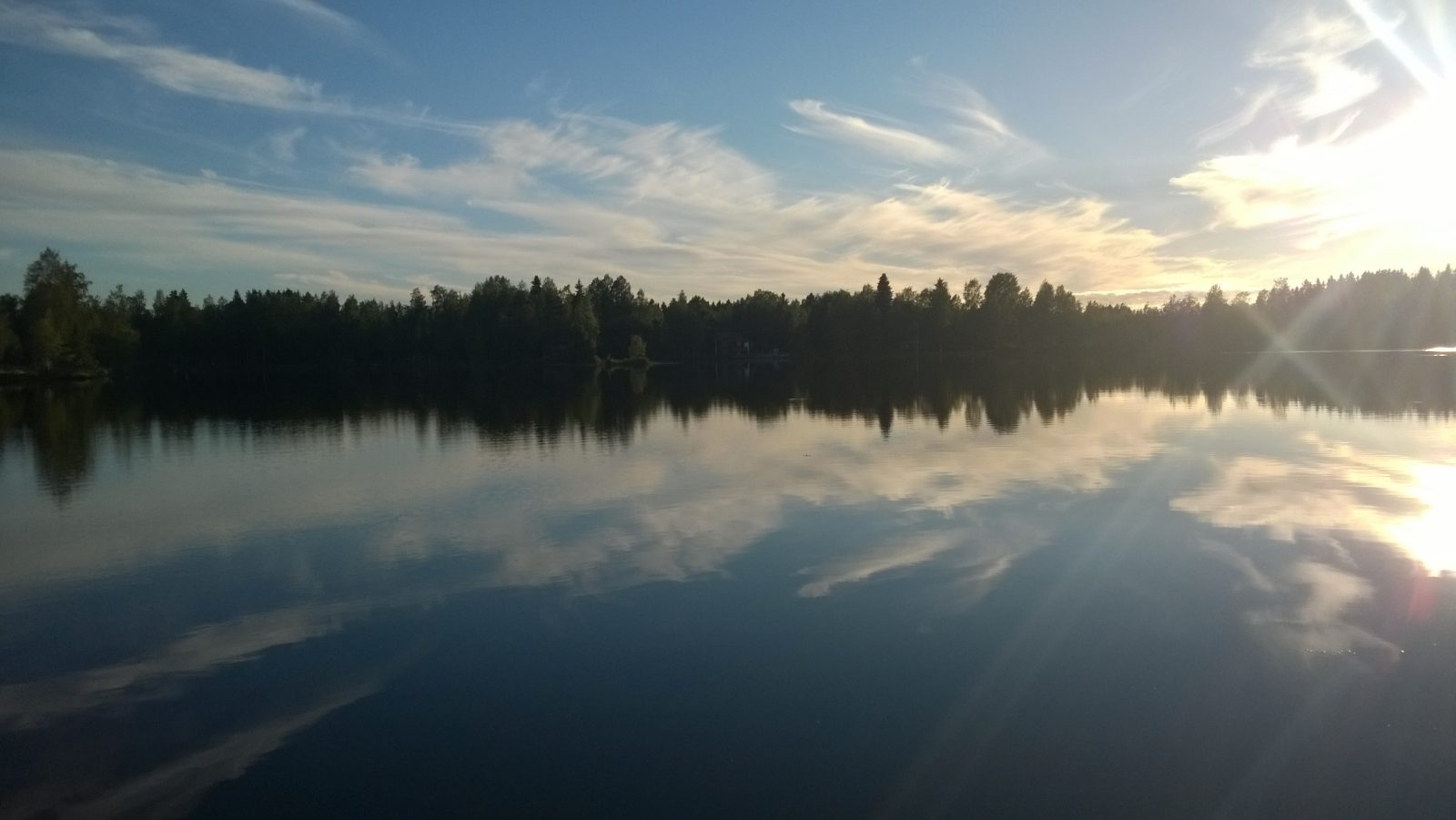 Djupsjön taivaanranta